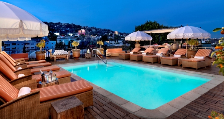 Hotel Petit Ermitage West Hollywood Ca