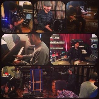Ethio Cali in Studio