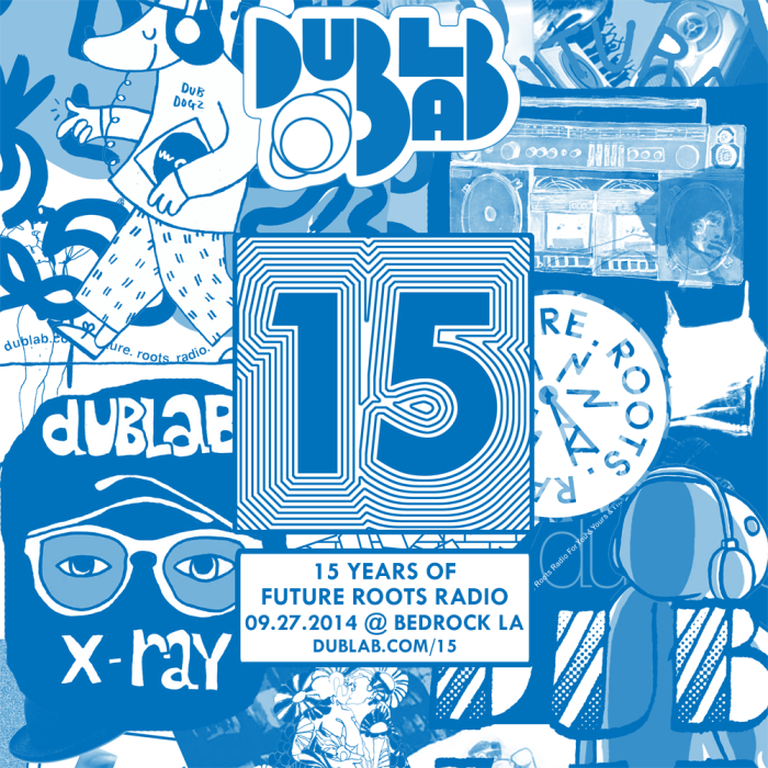 Dublab 15th Anniversary Flyer