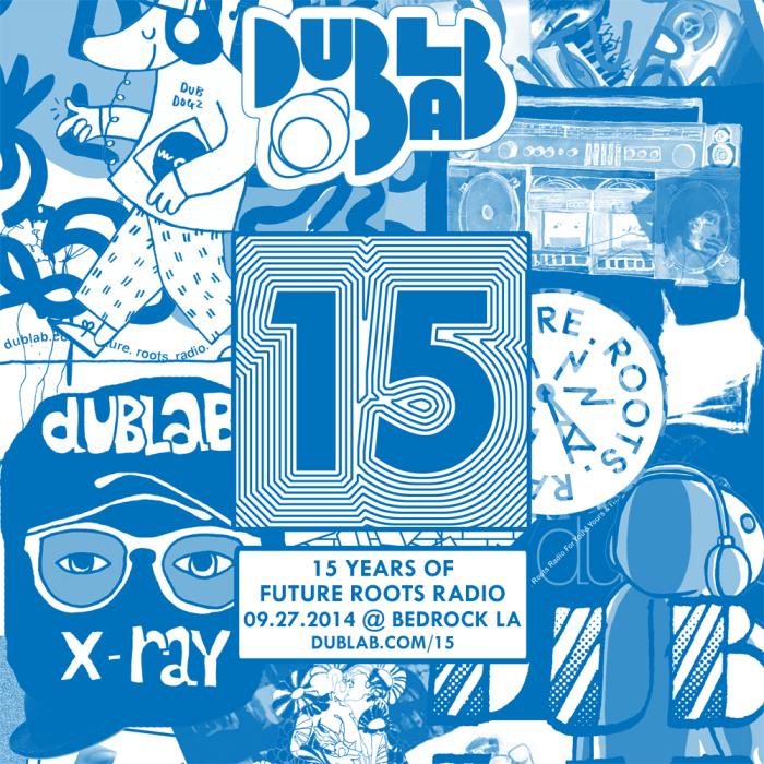 Dublab 15th Anniversary Flyer