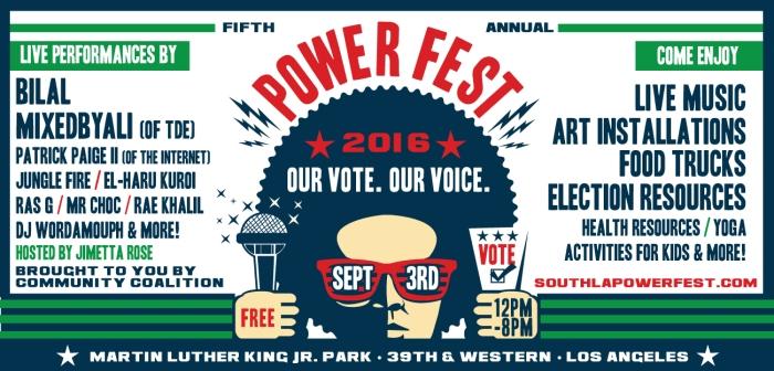 Power Fest Banner