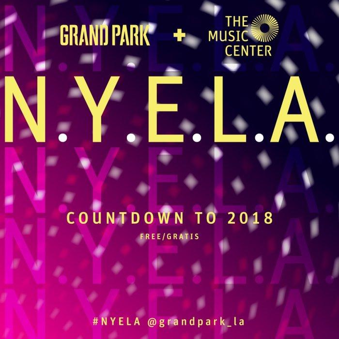 Grand Park NYE LA 2018